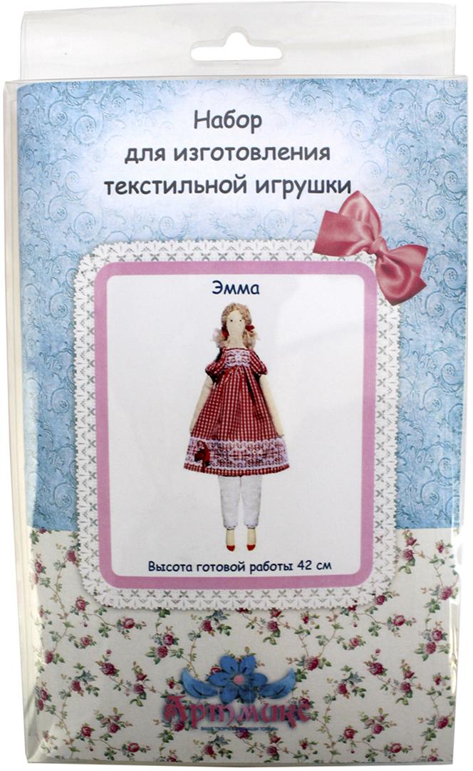 Набор для изготовления игрушки Артмикс Эмма, высота 42 см. AM100016 набор для изготовления текстильной игрушки кустарь зайка ольга высота 29 см