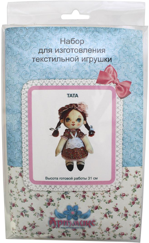 Набор для изготовления игрушки Артмикс Тата, высота 31 см. AM100027 наборы для творчества lori набор для изготовления магнитов из гипса золушка