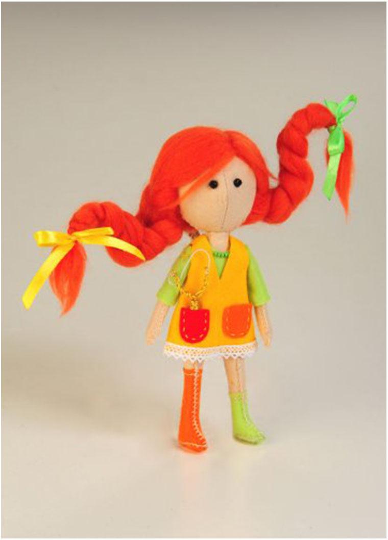 Набор для изготовления игрушки Перловка Вредина, высота 16,5 см набор для создания игрушки перловка слоненок фантик высота 19 см