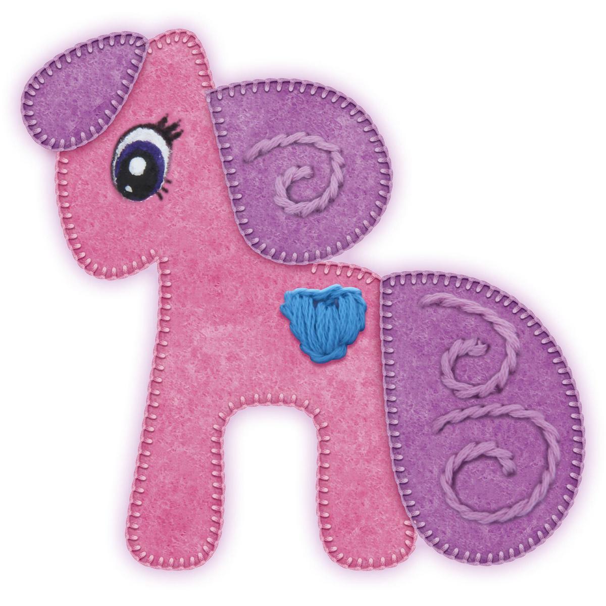 Школа талантов Набор для изготовления игрушки из фетра Пони