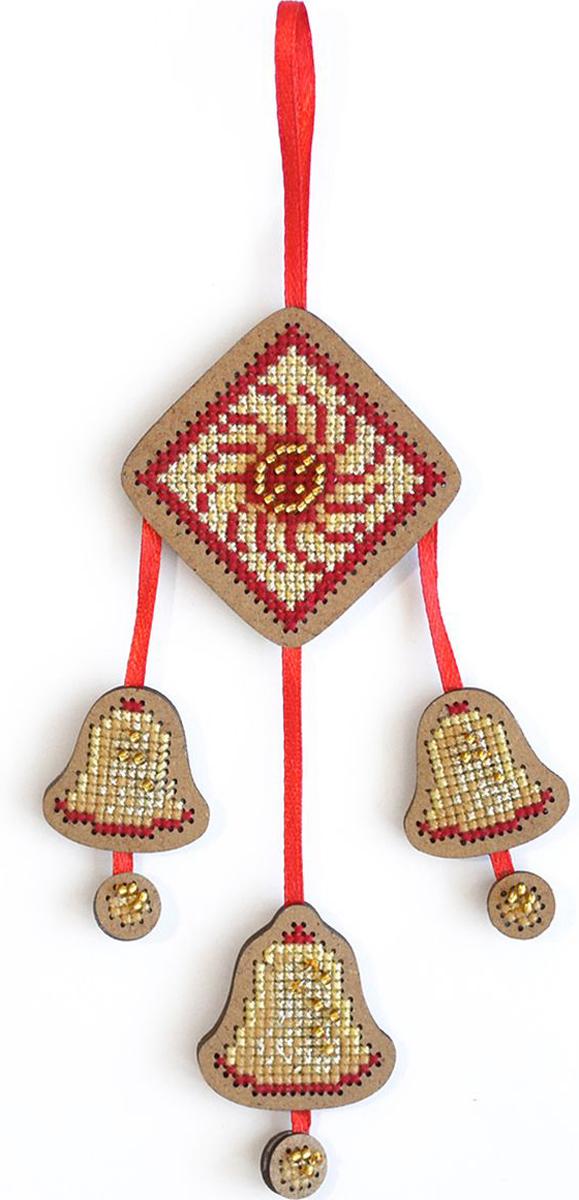 Набор для вышивания крестом Созвездие От злых сил. Колокольчики, 12 х 8 см набор для вышивания крестом мельница риолис 1097