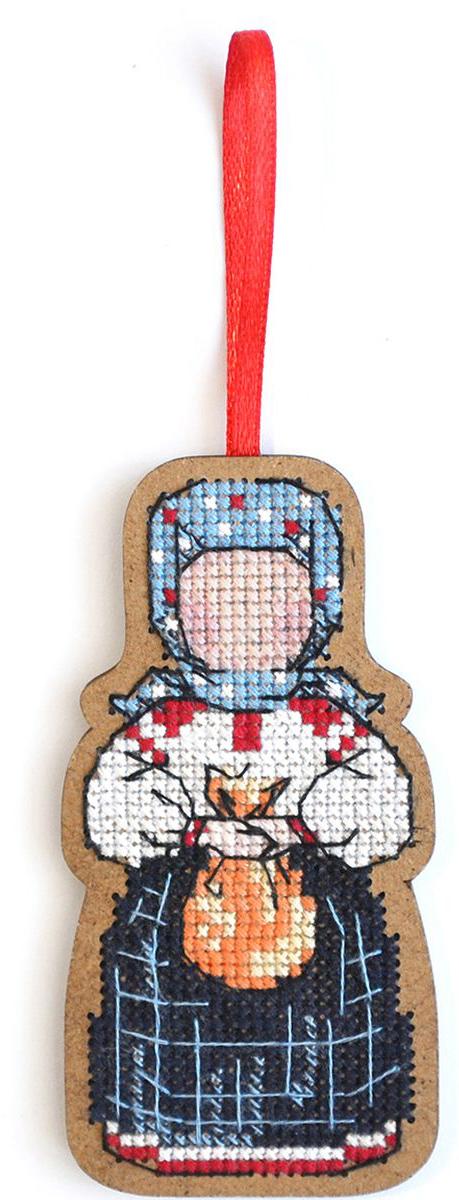 Набор для вышивания крестом Созвездие Добрая дорога. Подорожница, 9 х 4,5 см набор для вышивания крестом luca s дневной котенок 5 5 х 10 см