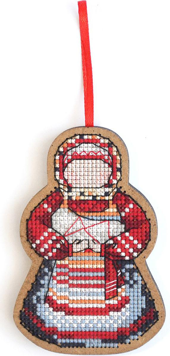 Набор для вышивания крестом Созвездие Мамушка-нянюшка, 9 х 6 см набор для вышивания крестом букет полевых цветов риолис 924