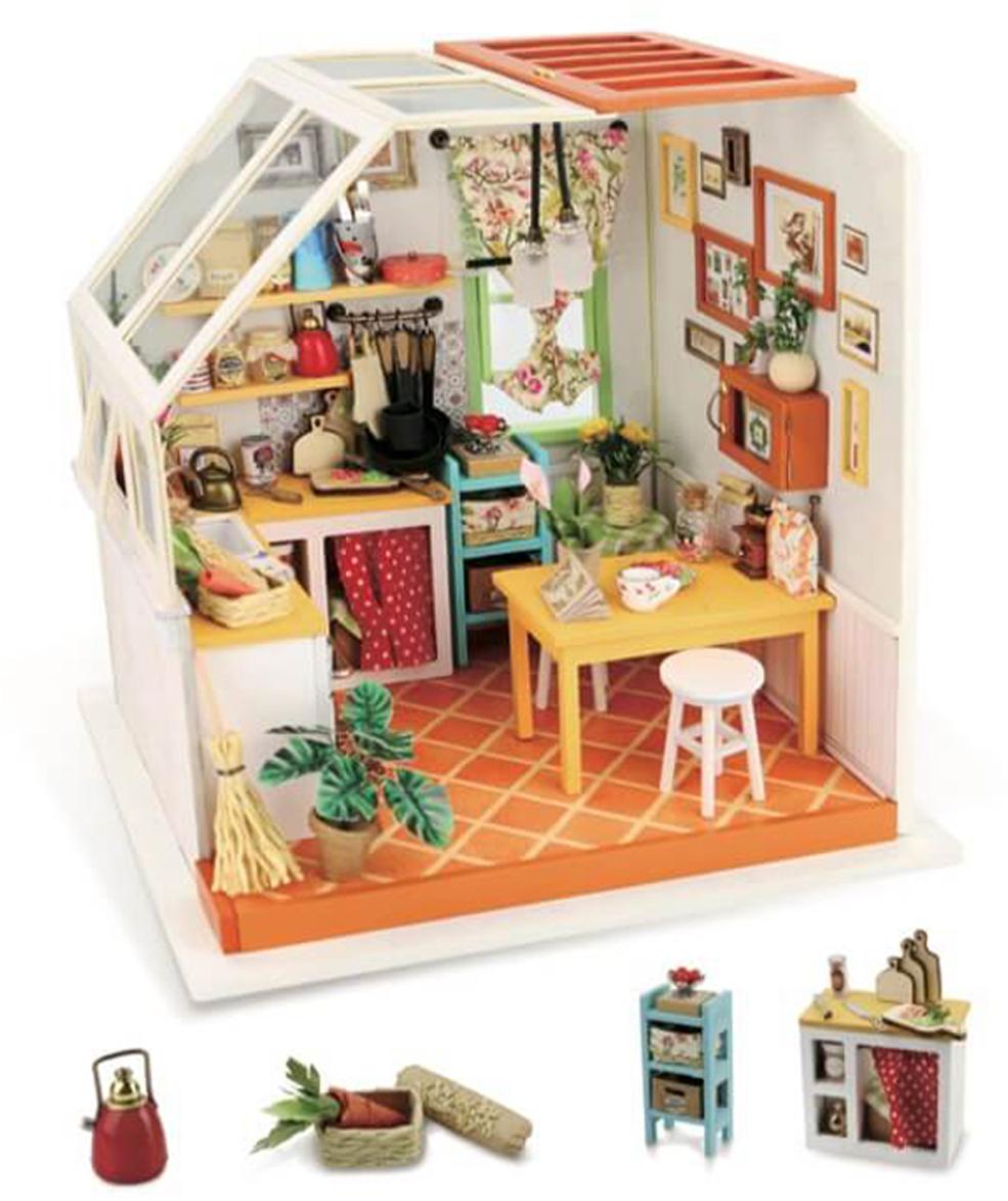 Набор для изготовления игрушки ТМ Цветной  Уютная кухня  - Игрушки своими руками