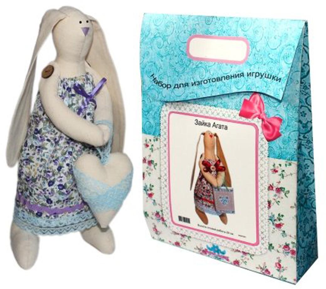 Подарочный набор для изготовления текстильной игрушки  Зайка Любава , 29 см - Игрушки своими руками