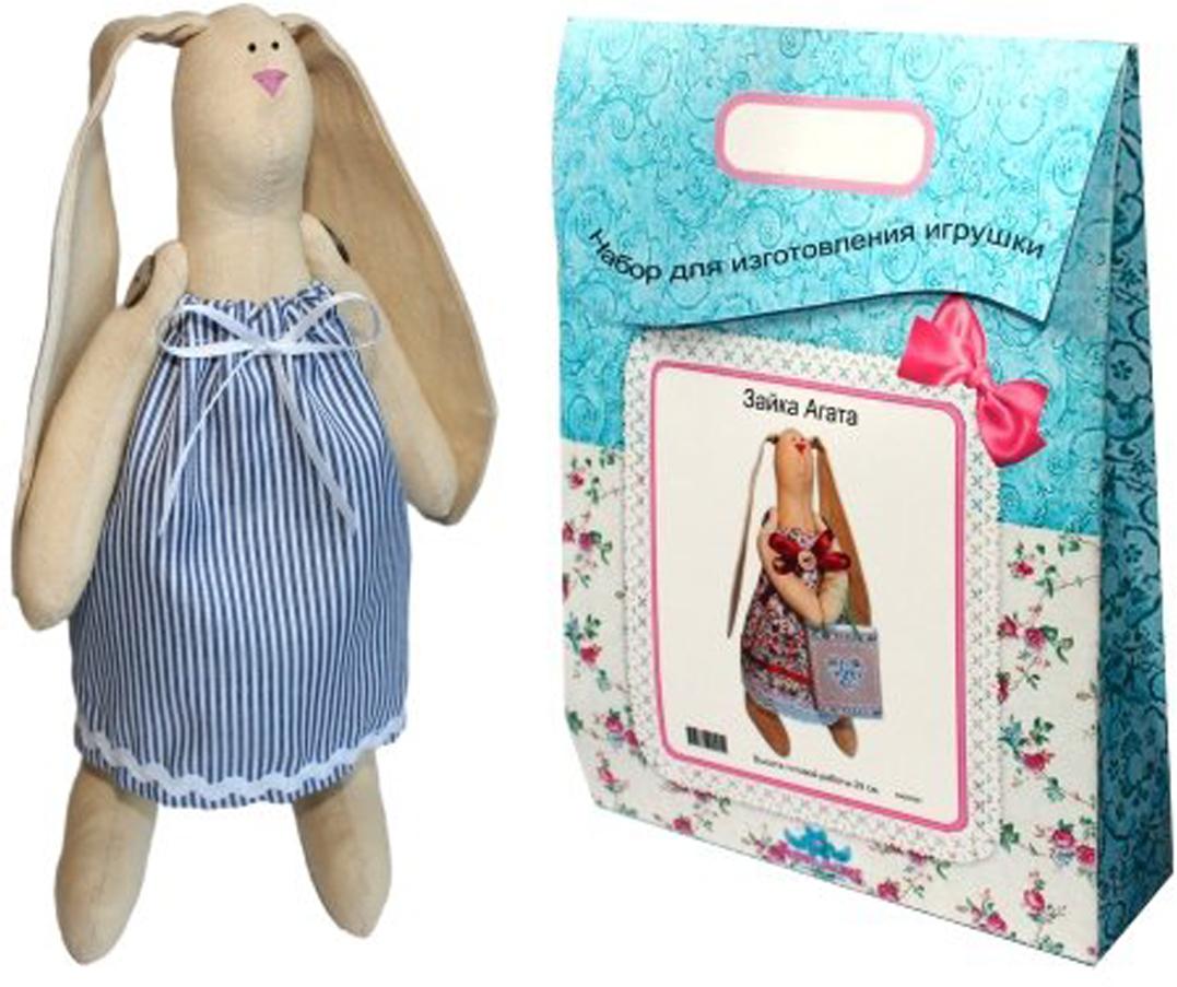Подарочный набор для изготовления текстильной игрушки  Зайка Раиса , 29 см - Игрушки своими руками
