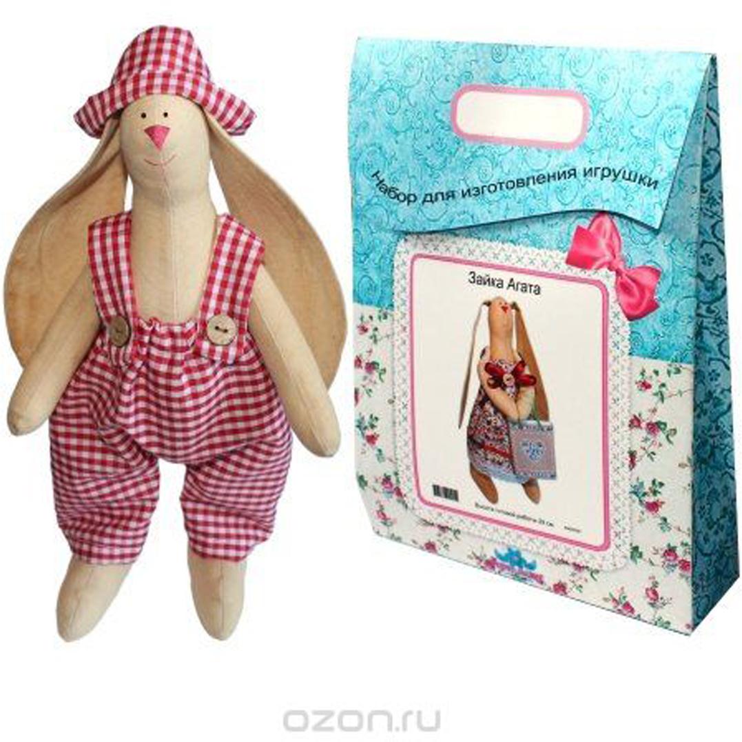 Подарочный набор для изготовления текстильной игрушки  Зайка Тимошка , 29 см - Игрушки своими руками