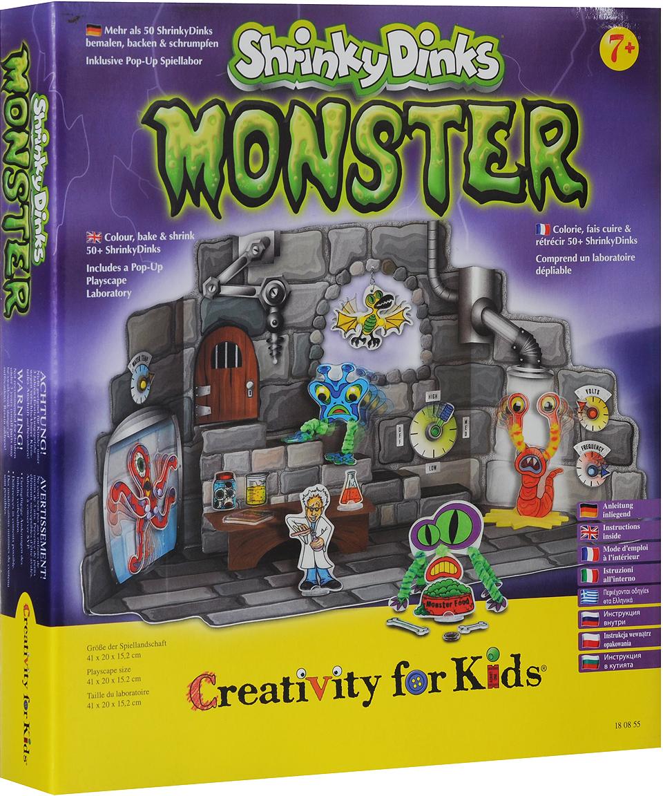 Набор для творчества  Монстры Shrinky Dinks  - Игрушки своими руками