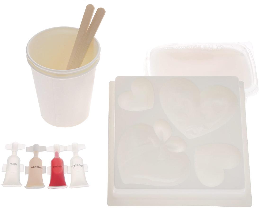 Набор для изготовления фигурного мыла Любовь. 2700000017661 набор для изготовления мыла фруктовый набор