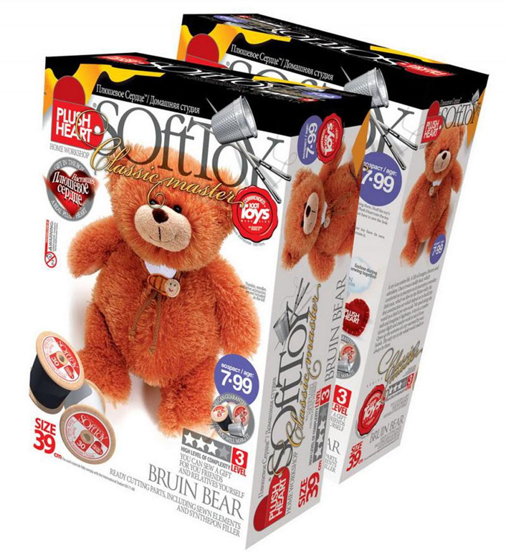 """Набор для создания мягкой игрушки """"Медведь Топтыгин"""", SoftToy"""