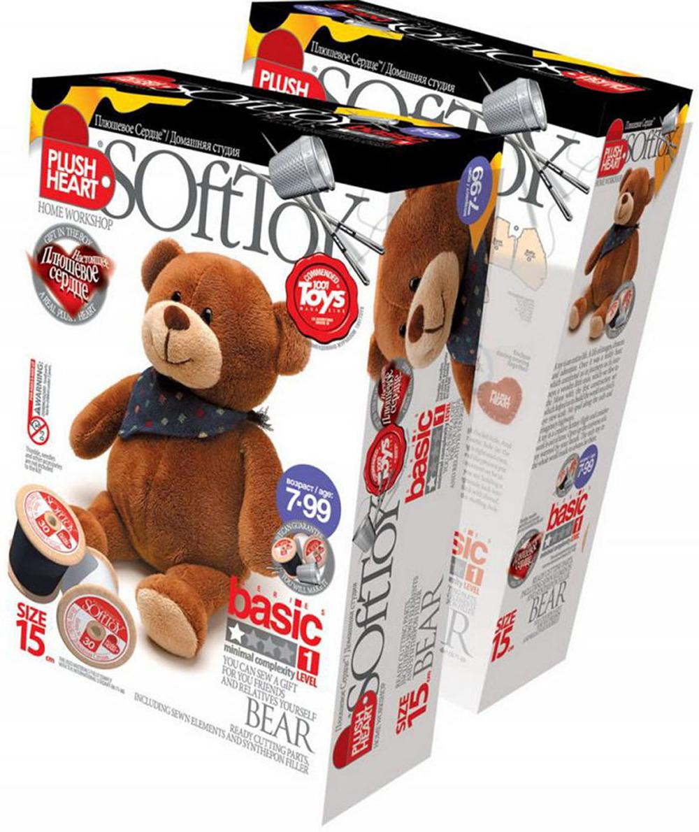 """Набор для создания мягкой игрушки """"Мишка"""". 457021, SoftToy"""