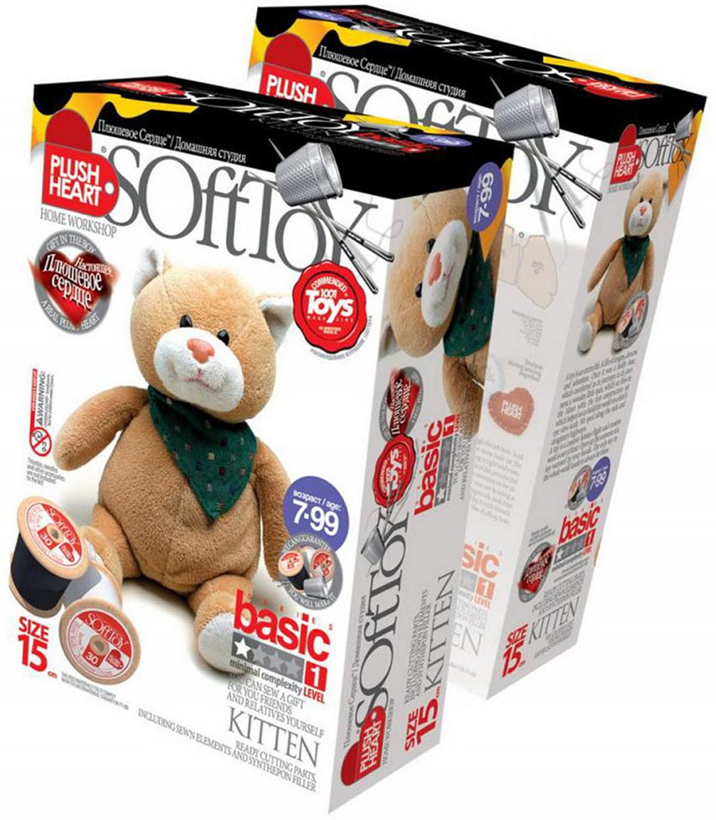 """Набор для создания мягкой игрушки """"Котенок"""", SoftToy"""