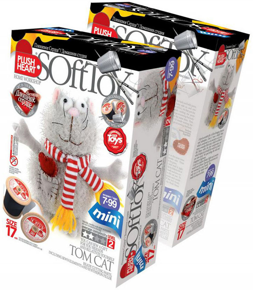 """Набор для создания мягкой игрушки """"Мартовский кот"""", SoftToy"""