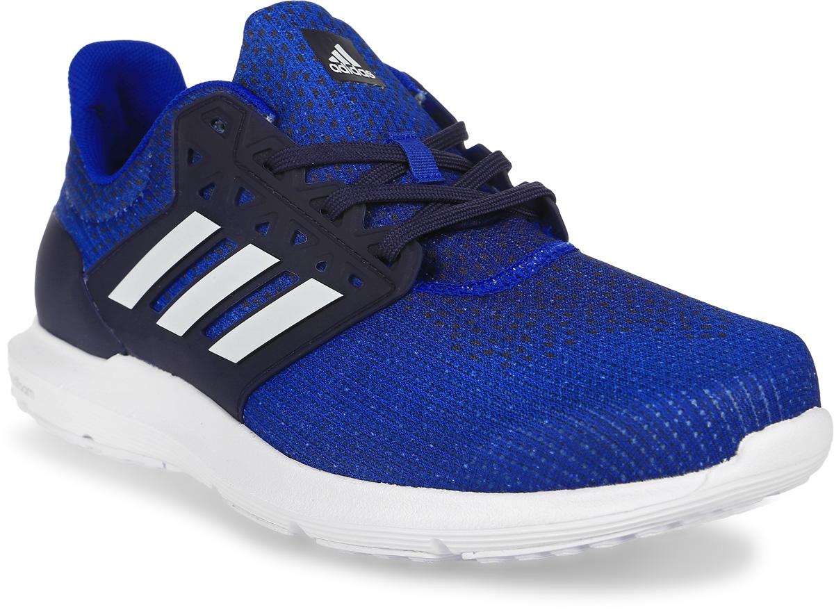 Кроссовки для бега мужские Adidas Solyx M, цвет: синий, белый. BB3594. Размер 10,5 (44)BB3594Беговые кроссовки Adidas Solyx от спортивного бренда adidas Performance полностью выполнены из текстиля. Шнурки надежно зафиксируют модель на ноге. Стелька из легкого EVA-материала для лучшего комфорта. Износостойкая резиновая подошва со стабилизирующим синтетическим покрытием для хорошего сцепления с поверхностью.