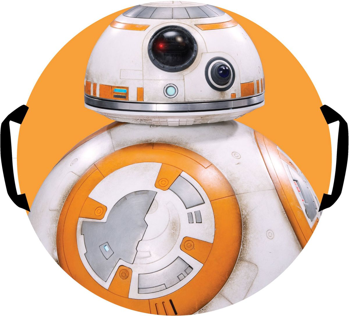 Ледянка 1TOY  Star Wars. Дрон ВВ-8 , диаметр 52 см - Катаемся с горки