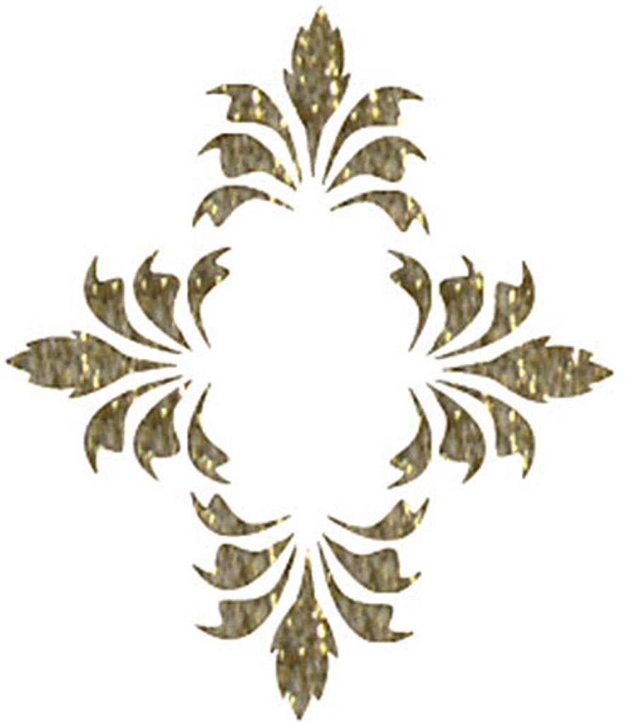 Zakazat.ru: Трансфер универсальный Ромбик из листочков, 17 х 25 см SM-026