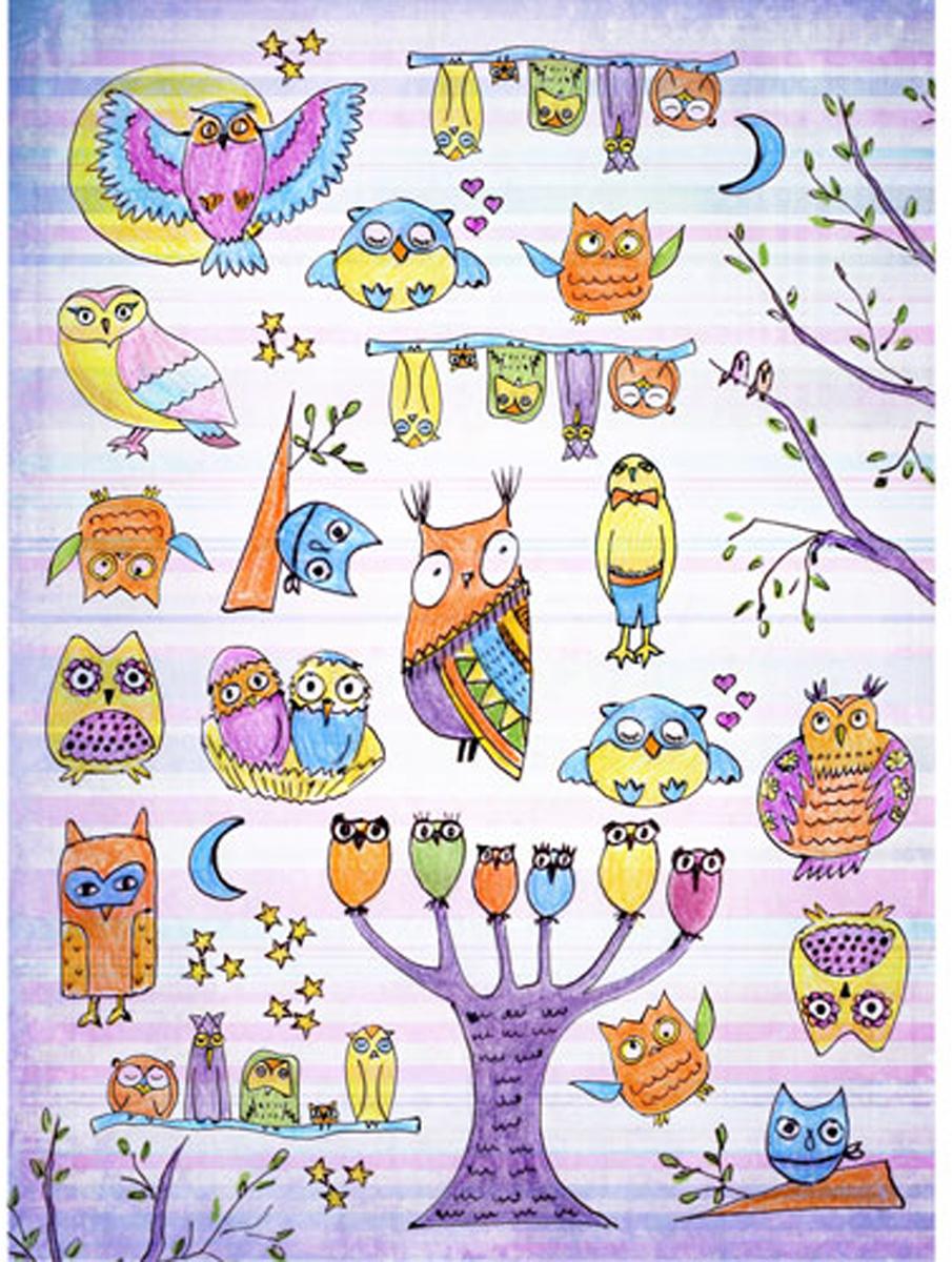 Бумага для декупажа Craft Premier Веселые совы, 29,5 см х 39,5 смCP08838Бумага для декупажа Craft Premier Веселые совы предназначена для декорирования предметов. Рисунки, вырезанные из декупажной бумаги, можно приклеить к любой твердой поверхности. Картинку легко вырезать и приклеить на любой фон, в том числе темный.Плотность: 25 г/м.
