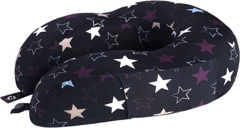 Подушка для путешествий Mettle Star, цвет: черный