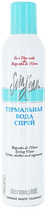 Термальная вода-спрей Dermophil Баньоль-де-Лорн, 125 мл41590003250Термальная вода Баньоль-де-Лорн оказывает успокаивающее и противовоспалительное действие. Восстанавливает Минералогический баланс кожи, мгновенно снимая ощущения дискомфорта и раздражения.Благотворно воздействует на чувствительную, проблемную, склонную к аллергическим реакциям кожу.Основное средство для ежедневного ухода за кожей: для освежения кожи; в сухом или кондиционируемом помещении, в поездках; для завершения очистки кожи; после занятий спортом; после загара для успокоения кожи. Характеристики:Объем:125 мл. Производитель: Франция. Артикул:41590003250. Товар сертифицирован.
