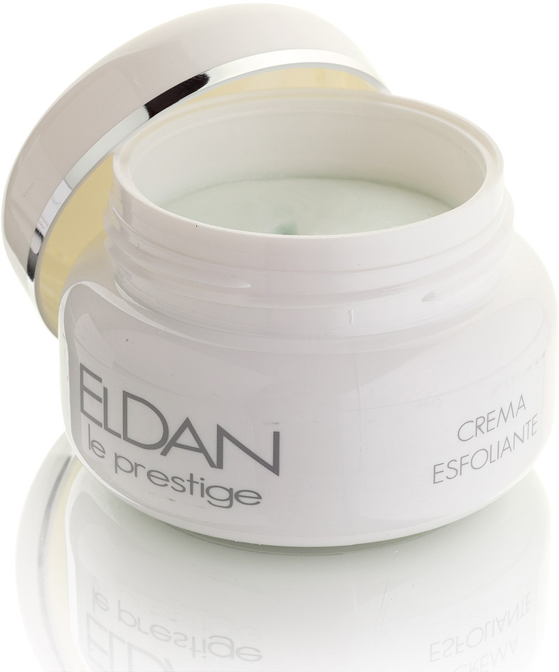 ELDAN cosmetics Керм-скраб для лица Le Prestige, 100 мл eldan крем для рук с прополисом eldan le prestige body care eld s 60 250 мл