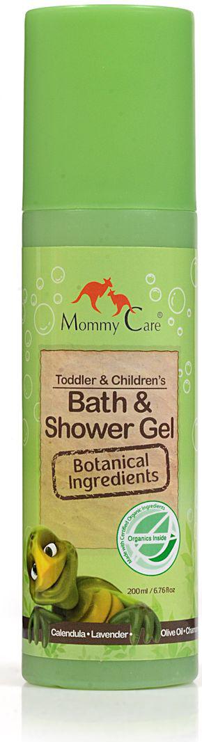 Mommy Care Натуральный гель для душа 200 мл2249Жидкое мыло для ежедневного использования в душе и ванне подходит для самой чувствительной кожи детей и взрослых. Мягко ухаживает за кожей. Натуральное травяное мыло включает экстракты календулы, ромашки и алоэ вера, которые прекрасно снимают раздражение кожи и способствуют заживлению малейших ссадин. Не содержит химических компонентов, парабенов, фталатов и SLS.