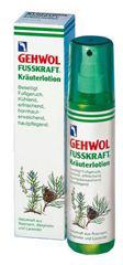 Gehwol Fusskraft Herbal Lotion - Травяной лосьон для ног 150 мл1*11308Травяной лосьон Геволь (Fusskraft Herbal Lotion Gehwol) содержит большое количество натуральных эфирных масел из розмарина, горной сосны и лаванды, дезодорирующие и дезинфицирующие элементы, охлаждающий ментол, ингредиенты на основе карбамида. Лосьон обладает приятным нежным запахом и дезодорирующими свойствами, но кроме этого он смягчает кожу и оказывает нормализующее воздействие на процесс потоотделения. Это средство охлаждает и освежает уставшие ноги и на продолжительное время избавляет от неприятного запаха пота, а также защищает от грибковых заболеваний. Активные компоненты: эвкалиптовое масло, касторовое масло, розмариновое масло, лавандовое масло, апельсиновое масло, сосновое масло, аллантоин, бисаболол, пантенол, молочная кислота, спирт денатурированный, фарнезол, вода.Как ухаживать за ногтями: советы эксперта. Статья OZON Гид