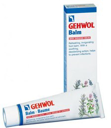 Gehwol Balm Dry Rough Skin - Тонизирующий бальзам Авокадо для сухой кожи ног 75 мл gehwol gerlachs fusskrem крем для уставших ног 75 мл