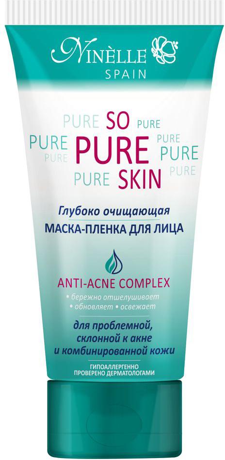 Ninelle So Pure Skin Глубоко очищающая маска-пленка для лица, 75 мл ninelle so hydra skin дневной крем для лица глубокое увлажнение 24 ч 50 мл