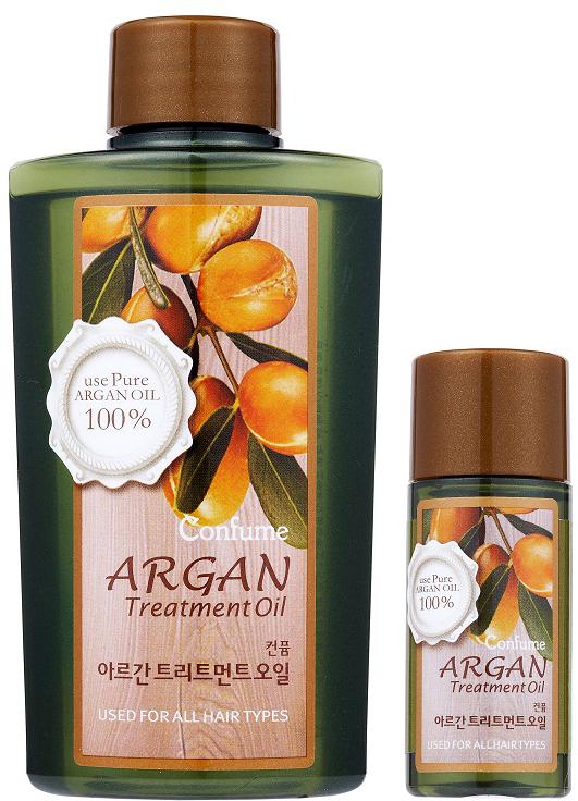 Confume Argan Набор Аргановое масло, 120 мл + масло, 20 мл8803348011170Ценное масло арганы на 80% состоит из ненасыщенных жирных кислот, которые являются незаменимыми элементами питания для волос и кожи. Также масло содержит высокую концентрацию натуральных антиоксидантов – полифенолов и токоферолов, обеспечивающих защиту от повреждающего действия свободных радикалов. Благодаря такому составу аргановое масло обладает комплексным восстанавливающим и ухаживающим свойством, предотвращает сухость кожи, оказывает омолаживающее действие, повышает эластичность и упругость.Содержит высокую концентрацию натуральных антиоксидантов – полифенолов и токоферолов, обеспечивающих защиту от повреждающего действия свободных радикалов.Как ухаживать за ногтями: советы эксперта. Статья OZON Гид
