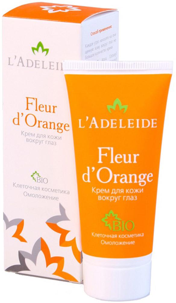 LAdeleide Крем для кожи вокруг глаз Fleur dOrange, 30 мл1102579912Клеточный комплекс для лица Fleur d'Orange – это косметика последнего поколения, разработанная против первых признаков старения. Разглаживает морщины, моделирует овал лица, увлажняет и укрепляет кожу. Активные компоненты крема на 100% натурального, растительного происхождения. В основе эффективности крема – клеточный комплекс MATRIXYL Synthe 6, гиалуроновая кислота и натуральные экстракты (апельсин, лимон, мандарин, яблоко, земляника и сахарный тростник).Активные компоненты:Matrixyl Synthe 6 - клеточный комплекс, заполняющий морщины изнутри, способствует устранению мимических морщин, стимулируя восстановление дермы.Гиалуроновая кислота 100% натурального происхождения Cristalhyal - увлажняющий компонент, предупреждает преждевременное старение.Xyliance обладает увлажняющими и восстанавливающими свойствами.Масло виноградной косточки оказывает питательное и омолаживающее действие.Cetiol Sensoft придает коже бархатистость.Д-Пантенол обладает регенерирующим, увлажняющим и разглаживающим действием.Аллантоин увлажняет, успокаивает, стимулирует образование здоровых тканей.