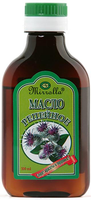 Репейное масло 100мл4650001790262Издавна почиталось на Руси, как надежное средство для ухода за кожей головы и волосами всех типов. Репейное масло содержит природный инулин, богатый комплекс витаминов, протеин, жирные кислоты, дубильные вещества и минеральные соли. - Укрепляет корни волос, насыщает их витаминами;- способствует росту волос; - снимает зуд;- успокаивает кожу головы;- способствует устранению перхоти и себореи.