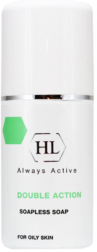 Holy Land Ихтиоловое мыло Double Action Soapless Soap, 125 мл11053852Антисептическое жидкое мыло для жирной и себорейной кожи.Действие:Эффективно очищает кожу, удаляет избыток кожного жира, не защелачивая кожу.Дезинфицирует и успокаивает кожу, устраняет зуд.Осветляет и рассасывает инфильтраты и застойные пятна, выравнивает цвет лица.Действует противовоспалительно и антисептически.Препарат эффективен при себорейном дерматите кожи волосистой части головы.Активные компоненты: Ихтиол продукт перегонки смолистых горных пород; в медицине давно применяется при лечении различных кожных болезней, ожогов, ран. Обладает противовоспалительным, антисептическим, местно-обезболивающим и рассасывающим действием. Ускоряет созревание пустул, рассасывание застойных пятен и глубоких инфильтратов.Перуанский бальзам смола, получаемая из коры бальзамного дерева, произрастающего в тропиках Центральной Америки. Обладает противомикробными, антипаразитарными и дезодорирующими свойствами.