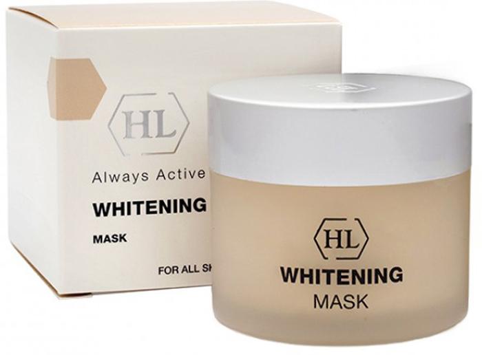Holy Land Отбеливающая маска Whitening Mask, 50 мл108087Отбеливающая маска. Применяется когда необходимо не только выравнивание цвета кожи, но и мягкий осветляющий эффект, например, если кожа лица отличается по цвету от кожи шеи, или после пилинга для предотвращения формирования посттравматической гиперпигментации, а также, если загар лег неровно.Действие:Мягкое осветляющее действие.Выравнивание цвета лица.Активные ингредиенты: каолин, диоксид титана, серебро, арбутин, койевая кислота, а также: Масло герани восстанавливает чувствительную, повреждённую, сухую кожу, улучшает регенерацию клеток. Стимулирует лимфообращение и выведение токсинов.Магний повышает жизнеспособность клеток и имеет огромное значение как антистрессовый минерал (при недостатке магния ускоряется процесс старения кожи); магний снимает воспаление, способствует активности клеток кожи.Сквален природный ненасыщенный углеводород, входит в состав липидной мантии кожи. Обладает смягчающими свойствами, поддерживает естественный уровень влаги и липидов. Снимает шелушение и смягчает кожу, повышая её эластичность.Аллантоин смягчает и успокаивает кожу, устраняет шелушение, стимулирует обновление клеток эпидермиса. Подавляет рост бактерий, ускоряет регенеративные процессы и заживление ран, обладает кератолитическим и легким обезболивающим действием.