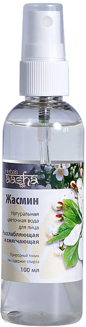 Aasha Herbals Цветочная вода для лица Жасмин, 100 мл