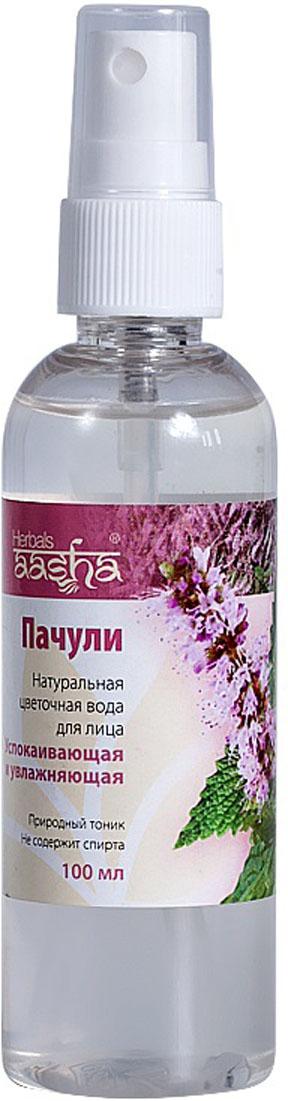 цены Aasha Herbals Цветочная вода для лица Пачули, 100 мл