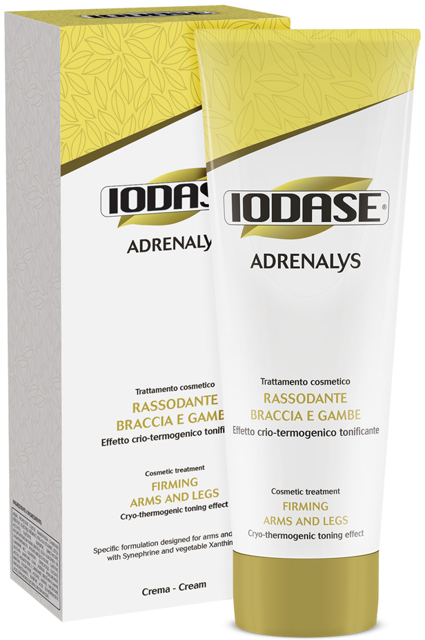 Iodase Крем для тела Adrenalys, 220 мл0732Крем против жировых отложений в различных зонах тела Крем на натуральной основе способствует сокращению жировых масс, скопившихся в области ягодиц, бедер, внутренних зон предплечья, обладает отличным дренажным эффектом, придает коже эластичность и упругость. Стимулирует расщепление липидов внутри жировых клеток), препятствует липогенезу (образованию новых зон жировых отложений), дренажное действие (улучшает микроциркуляцию в тканях). Крио и термо действие в одном креме! Не содержит PEG и парабены. Крио-термогенический эффект. Дерматологически протестировано.