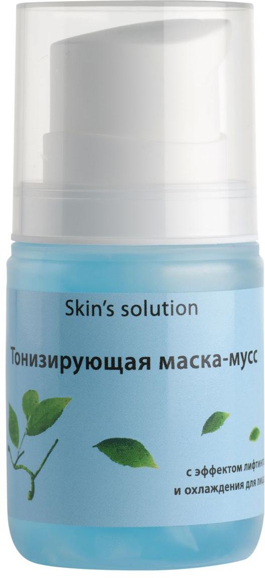 Emansi Тонизирующая маска-мусс с эффектом лифтинга и охлаждения Skin's solution, 50 мл