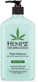 Hempz Молочко для тела Тройное увлажнение Herbal Body Triple Moisture 500 мл hempz гель для душа тройное увлажнение triple moisture herbal body wash 250 мл