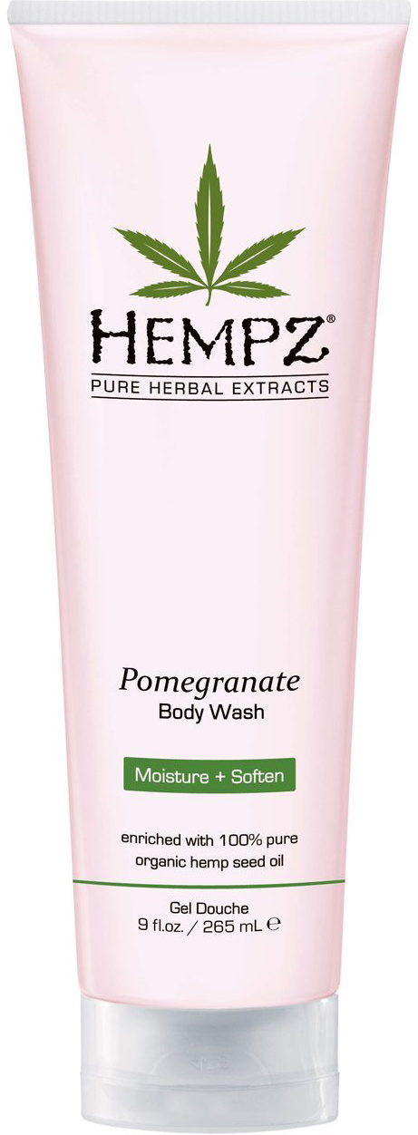 Hempz Гель для душа с ганатом Pomegranate Body Wash 250 мл fa гель для душа oriental moments 250 мл