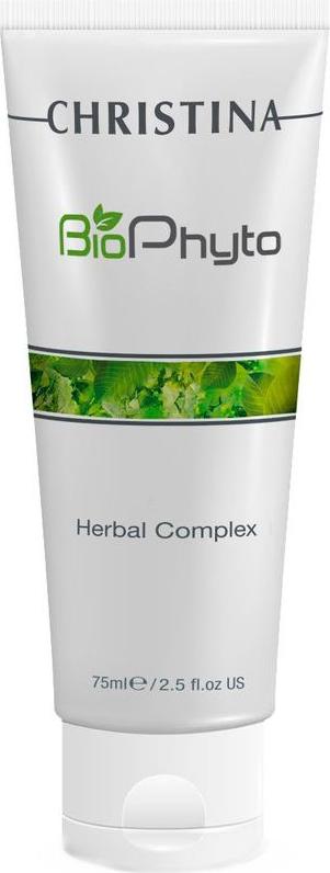 Christina Био-фито-пилинг облегченный для домашнего использования Bio Phyto Herbal Complex 75 мл био сыворотка gluta complex bio serum provamed глута комплекс 30 мл
