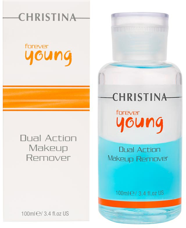 Christina Средство для снятия макияжа Forever Young Dual Action Make Up Remover 100 мл