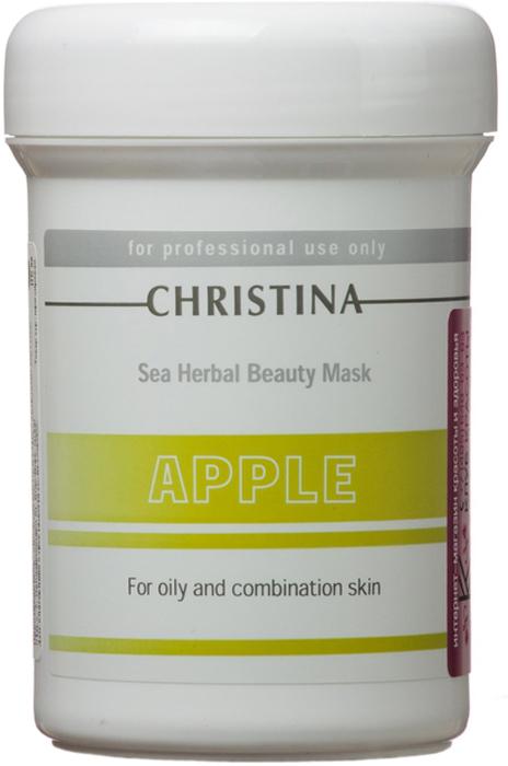 Christina Яблочная маска красоты для жирной и комбинированной кожи Sea Herbal Beauty Mask Green Apple 250 млM-576Яблочная маска красоты для жирной и комбинированной кожи Christina Sea Herbal Beauty Mask Green Apple обеспечит увлажнение дегидрированной коже. Не содержащая жиров формула объединила в себе успокаивающие растительные ингредиенты и высокоактивные гидрирующие вещества, которые оказывают оживляющее, освежающее и обновляющее действия на усталую кожу. Яблочная маска красоты для жирной и комбинированной кожи Christina содержит фруктовые кислоты, добываемые из яблока, которые улучшают текстуру кожи и препятствуют появлению признаков старения. Маска не высыхает, обладает кремообразной консистенцией и обеспечивает постоянный питательный эффект.