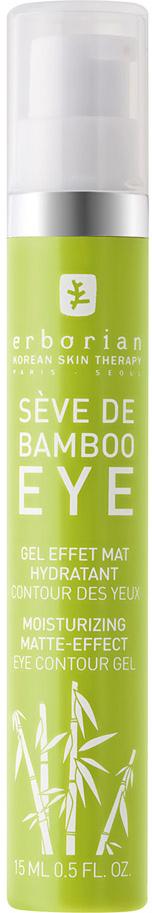 Erborian BAMBOO Увлажняющий уход за кожей вокруг глаз 15 млKZ 0291Бамбук Увлажняющий уход за кожей вокруг глаз помогает мгновенно уменьшить признаки усталости области вокруг глаз: обезвоживание, мешки под глазами и сухость кожи. Его увлажняющая формула содержит бамбук, который помогает увлажнить слабую кожу вокруг глаз, придавая ей здоровый цвет и вид. Завершающий штрих уменьшает припухлости, темные круги под глазами. Глаза выглядят отдохнувшими, излучают блеск и свежесть.