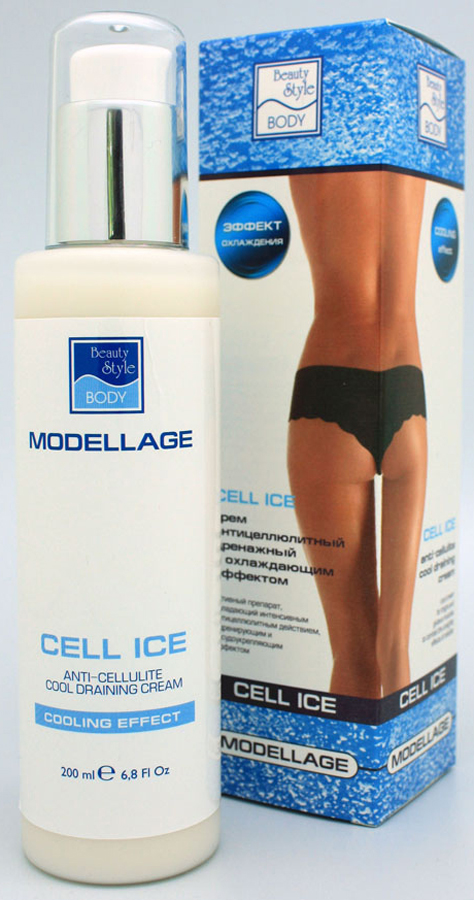 Beauty Style Антицеллюлитный крем «CELL ICE» Modellage