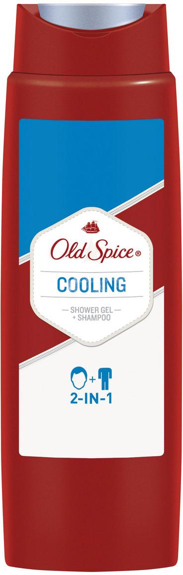 OLD SPICE Гель для душа + шампунь 2в1 Oхлаждающий 250 млOS-81554168У тебя есть волосы? А тело? Господа, это очень серьезные вопросы. Если ответ положительный хотя бы на один из двух, то - к делу. Очищающая пена ударной волной смывает грязь и неприятных запах и подобно туману над долиной, скрывающему в себе ее обитателей, бодрящий аромат накрывает тебя на целый день. Если по какой-то причине у тебя нет ни тела, ни волос, то не волнуйся - мы находимся в процессе разработки геля для душа, специально для тебя. А пока используй проверенный гель для душа Old Spice.
