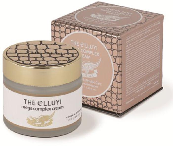 The Elluyi Комплексный крем с маслом крокодила (осветление и лифтинг), Mega complex, 70 г8809459152740Масло крокодила(20,000ppm) в составе крема богато линолевой и олеиновой кислотами, а также жирными кислотами омега 3,6,9. Крем с маслом крокодила восстанавливает кожу и укрепляет её иммунитет, доставляя коже необходимые полезные питательные вещества. Комплекс растительных масел (масло ши, масло авокадо, масло семян манго, масло кедровых орехов, кокосовое масло) оказывает питательное действие, увеличивает эластичность кожи и создает защитную пленку, которая удерживает влагу в коже, препятствуя испарению. Ниацинамид, известный своим осветляющим действием, при регулярном применении сглаживает интенсивность цвета пигментных пятен и препятствует дальнейшему появлению пигментации, подавляя производство меланина в коже. Ферментированный фильтрат сахаромицетов укрепляет кожу и борется с возрастными изменениями.