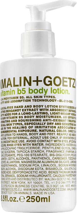 Malin+Goetz Увлажняющий лосьон для тела с витамином В5 250 мл