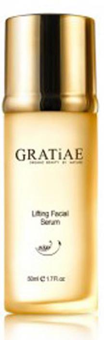 Gratiae Сыворотка для лица Facial Serum, 50 мл00-00000145Специальная формула с концентратами активных ингредиентов и органических растений помогает в секунды превратить вашу кожу из усталой и тусклой в подтянутую, свежую и светящуюся. Эта сыворотка является быстродействующей жидкостью, которая не только подтягивает, но и восстанавливает кожу, возвращая ей красоту и молодость.