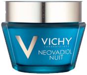 Vichy Neovadiol Компенсирующий комплекс ночной уход для кожи в период менопаузы, 50 мл4058-6В результате 14 лет исследований был разработан инновационный уход,который помогает компенсировать замедление естественного механизмарегенерации кожи вновь наполнить ее молодостью.Замедление процессов регенерации - это первопричина быстрых измененийкожи в период менопаузы: - Снижение плотности кожи; - Изменения овала лица; - Углубление морщин; - Снижение эластичности кожи; - Неровный микрорельеф; - Сухость, хрупкость кожи.Neovadiol компенсирующий комплекс объединяет 4 активных дерматологическихингредиента в рекордной концентрации: про-ксилан активирует выработкусобственного коллагена кожи, восстанавливая слой за слоем и делая морщиныменее заметными; Hepes и Hydrovance ускоряют процессы регенерации изнутри; гиалуроновая кислота интенсивно увлажняет кожу.Для чувствительной кожи, гипоаллергенно, на основе минерализующейтермальной воды.