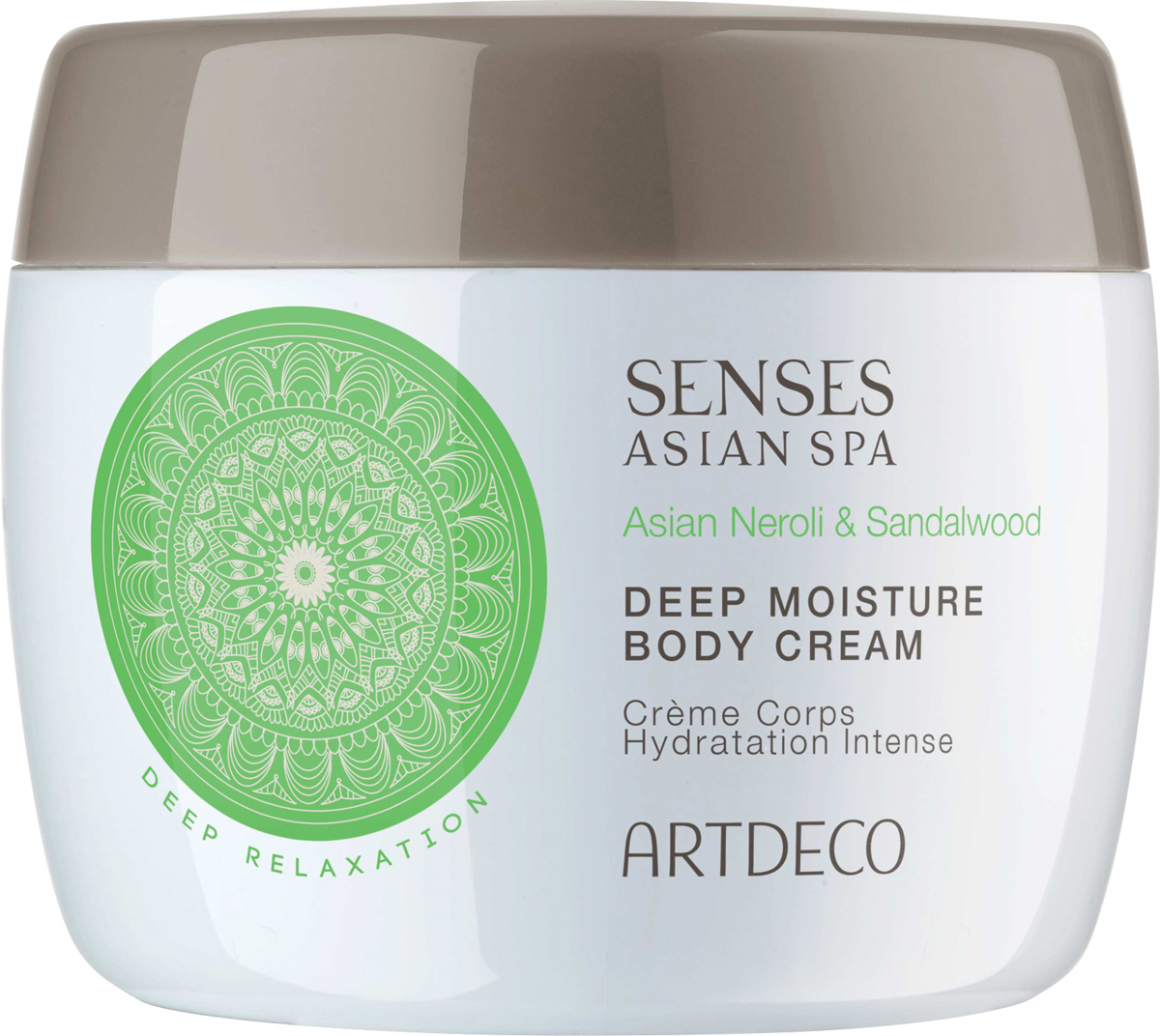 Artdeco крем для тела глубокоувлажняющий Deep moisture body cream, deep relaxation, 200 мл скраб artdeco deep exfoliating foot scrub deep relaxation